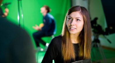green screen - student engagement