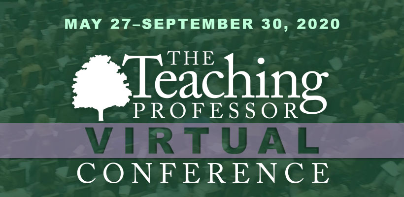 The Teaching Professor Virtual Conference